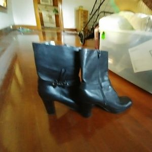 Leather Nine West Boots